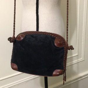 Handbags - Vintage Leather Crossbody Bag